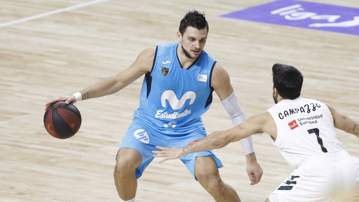 Alessandro Gentile regresa al Movistar Estudiantes
