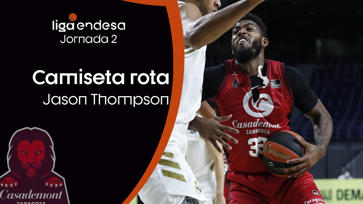 Jason Thompson y una camiseta rota