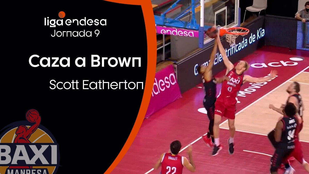 Eatherton caza a Brown