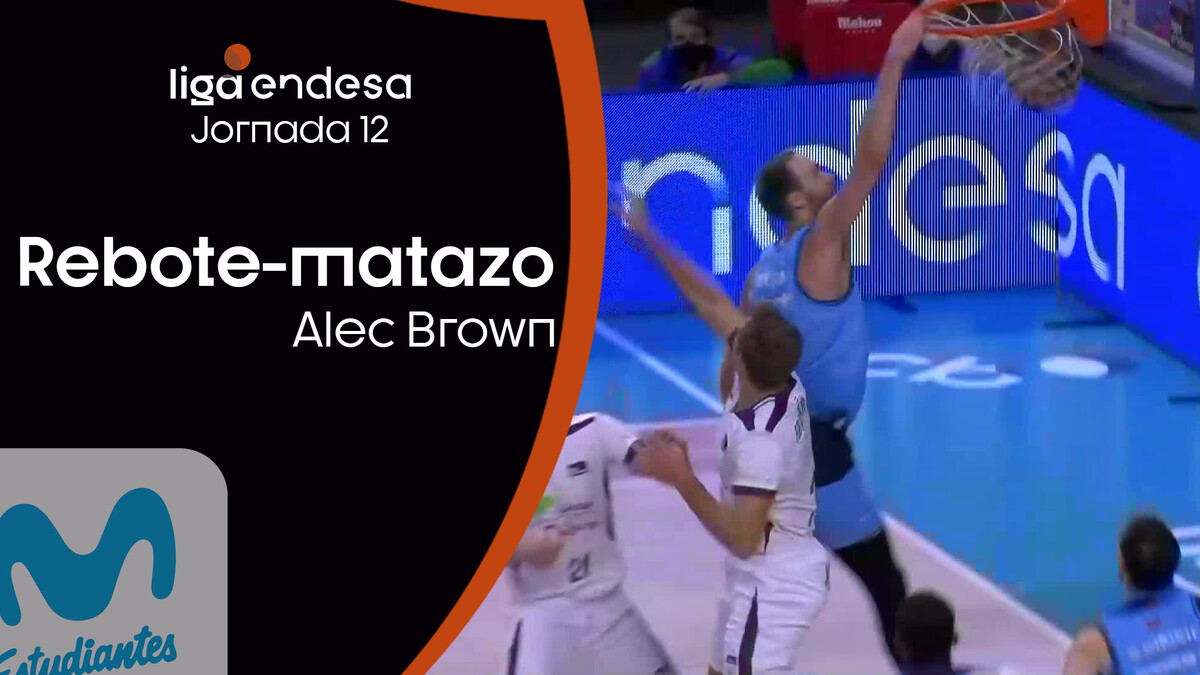 Rebote-mate de Alec Brown