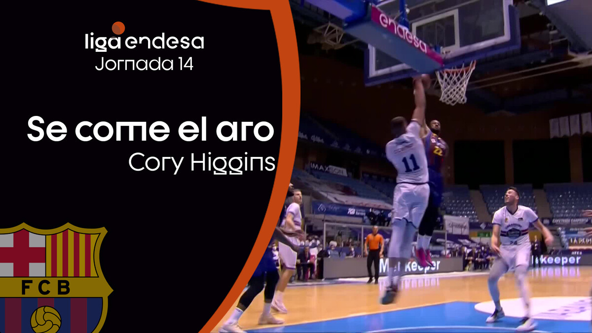 ¡Cory Higgins se come el aro!