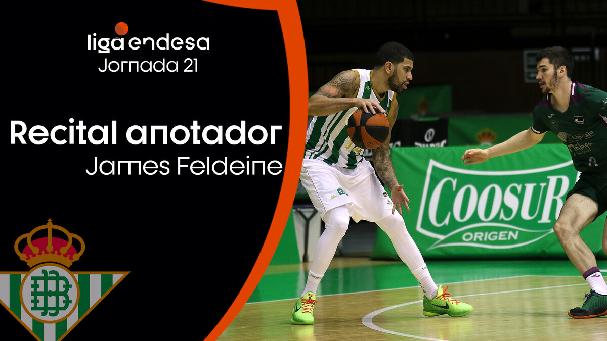 El recital anotador de James Feldeine