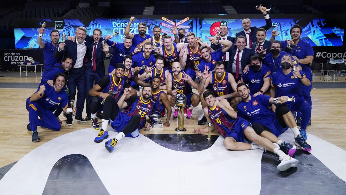 ¡El Barça conquista el cielo de Madrid!