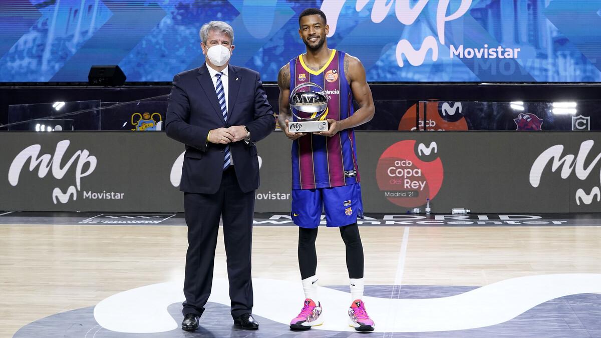 Cory Higgins, MVP Movistar de la Copa del Rey Madrid 2021